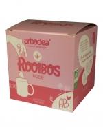 Boîte de thé rouge rooibos rose