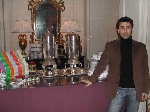Portrait de Farzad Abedian, Gérant d'Arbadea