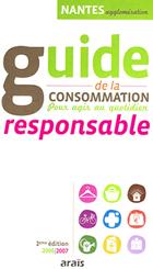 Couverture du guide de la consommation responsable - Araïs