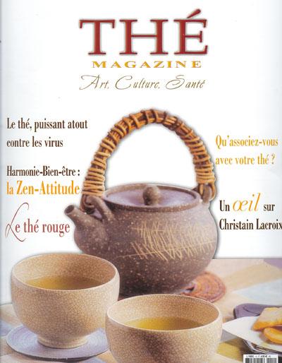 Couverture de Thé Magazine